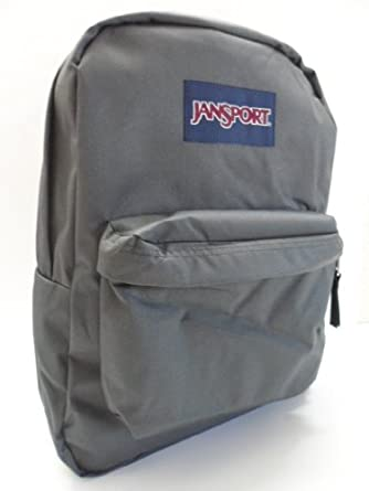 Amazon.com | JANSPORT SUPERBREAK BACKPACK SCHOOL BAG - Forgy Gray ...