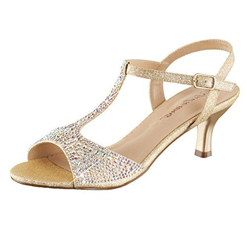 Heels-Perfect - Zapatillas de casa Mujer beige (beige)