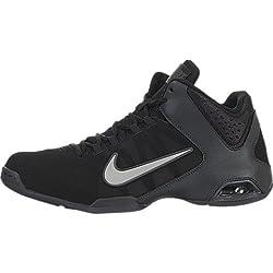 Nike Air Visi Pro IV NBK Men's Basketball Shoes Black/Medium Grey-Anthracite