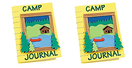 12 - Camp Journal Craft Kits - CAMPING PARTY (Camp Crafts)