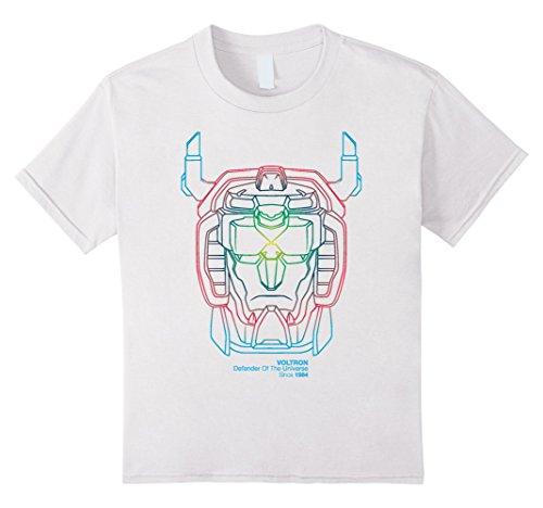 Price comparison product image Kids Voltron Legendary Defender 5 Lion Voltron Since 1984 T-Shirt