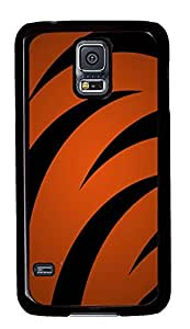 Samsung Galaxy S5 fancy cover A Tigers Stripes Background PC Black Custom Samsung Galaxy S5 Case Cover