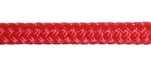 Titan 10618942, Double Braid Nylon Dockline 10618942 1/2 inch by 25 feet, 12 inch eye splice
