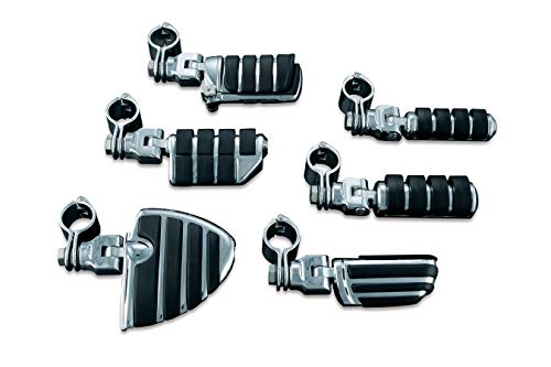 Kuryakyn 8033 ISO Large Pegs with Clevis and 1-1/4