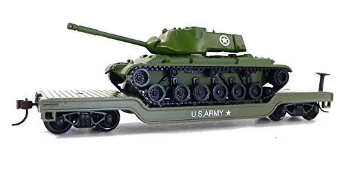 Model Power 98225 US Army Low Loader with Patton Tank