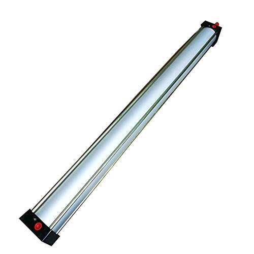 INTBUYING Air Cylinder Single Thread Rod Dual Action SC 80 x 1000 Bore: 80mm Stroke: 1000mm