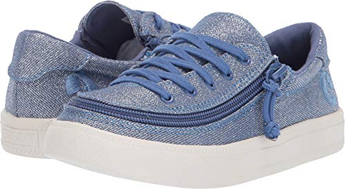 BILLY Footwear Kids Baby Girl's Classic Lace Low (Toddler/Little Kid/Big Kid) Beach Blue 3 M US Little Kid -