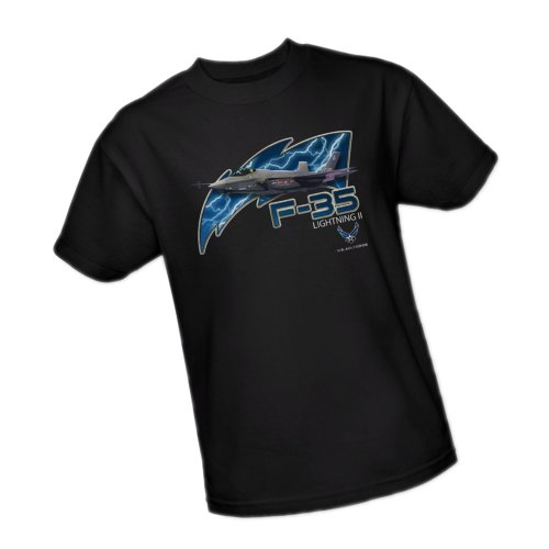 F-35 Lightning II -- United States Air Force Youth T-Shirt, Youth Small