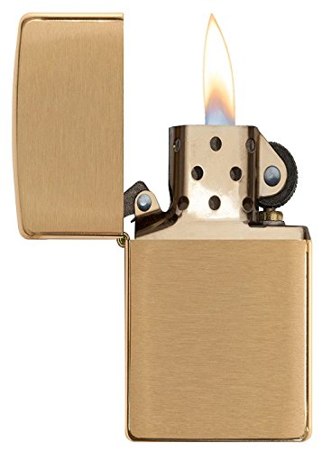 how to clean a brass zippo lighter