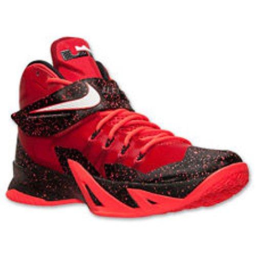 Nike Zoom Lebron Soldier VIII 8 - Men's (11, University Red/Bright Crimson/White)