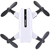 Gbell Amazing RC Aircraft Mini Foldable Quadcopter Pocket Remote Control Helicopter RC Drone L200 2.4GHz for Kids&Adults