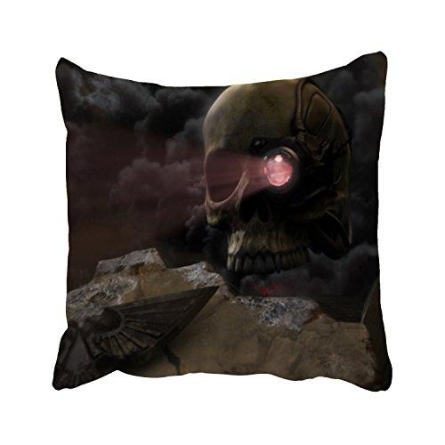 Digital Surface Servo (YooSoeLink Pillowcase Warhammer Servo Skull For Bed)