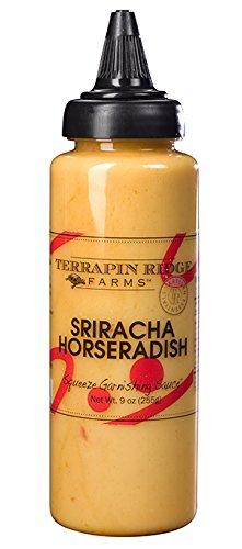 Terrapin Ridge Farms Sriracha Horseradish Squeeze Garnishing Sauce (3 Pack) ()
