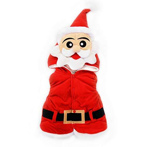 KIMJUN Baby Boys Girls Hooded Vest Kid Christmas Hoodie Winter Warm Coat Outerwear 90 by KIMJUN