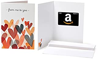 Amazon.com $100 Gift Card in a Greeting Card (From Me to You Design) (B017CX8Y0A) | Amazon price tracker / tracking, Amazon price history charts, Amazon price watches, Amazon price drop alerts