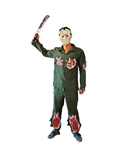 Disfraz Asesino Jason para hombre (M)