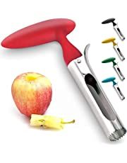 Premium Easy to Use Durable Apple Corer Remover for Pears, Bell Peppers, Fuji, Stainless Steel Best Kitchen Gadgets Cupcake Corer Deft