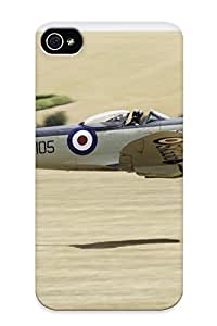 New Arrival Case Cover UZnqi0MCMdf With Design For Iphone 4/4s- Plane Supermarine Seafire Fxvii British Military Best Gift Choice For Lovers
