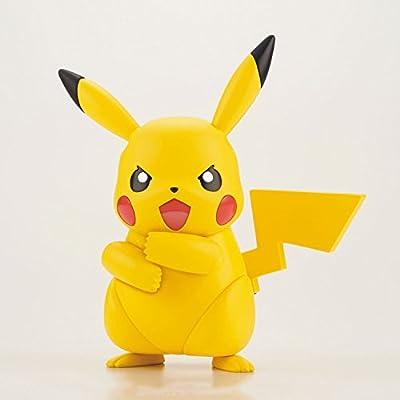 Bandai Hobby Pokemon Sun & Moon Plamo 41 Select Series Pikachu Model Kit: Toys & Games