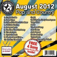 All Star Karaoke August 2012 Pop and Country Hits (ASK-1208) by Cupid, Owl City feat Carly Rae Jespen, Toby Keith, Adele, The Band Perry, Jake O (2012) Audio CD