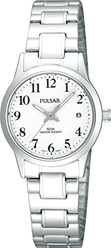 Pulsar Uhren Women's Quartz Watch Klassik PH7145X1 with Metal Strap