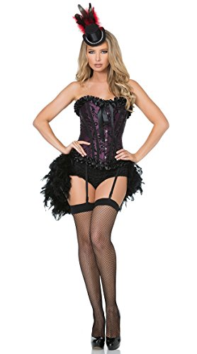 Mystery House Burlesque Babe Deluxe (Burlesque Dancer Costumes For Women)