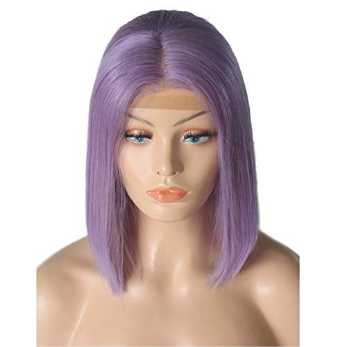 8-Inch-Lilac-Bob-Front-Lace-Wig-Human-Hair-13×4-Middle-Part-Short-Bob-Wigs-for-Black-Women-180-Density-Full-Thick-Colored-Lace-Frontal-Wig-for-Summer