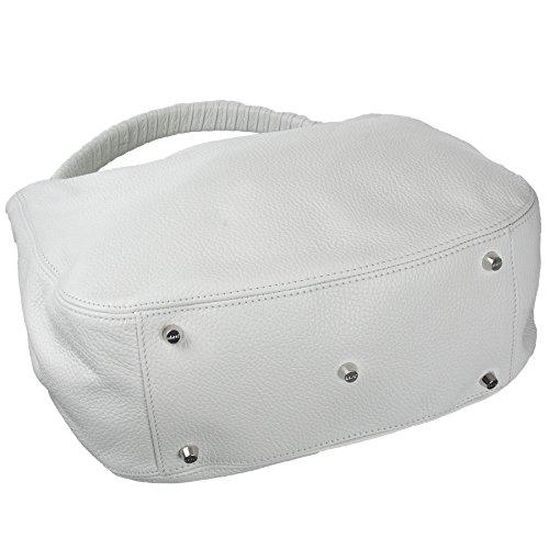 abro Beuteltasche Adria Calf Leder in weiß ab-27843-37-70