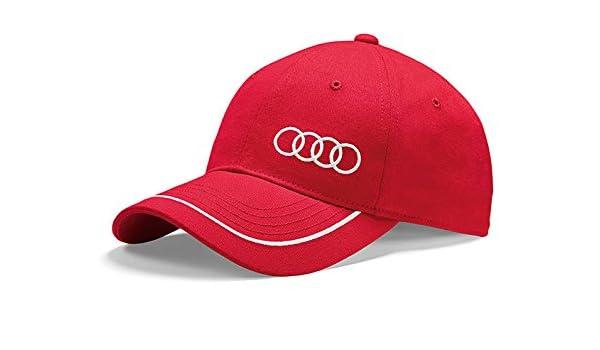 Audi Motorsport Gorra Le Mans DTM en rojo: Amazon.es: Coche y moto
