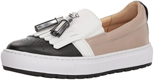 Geox Women's White 14 Breeda Black Sneaker rrdvqf