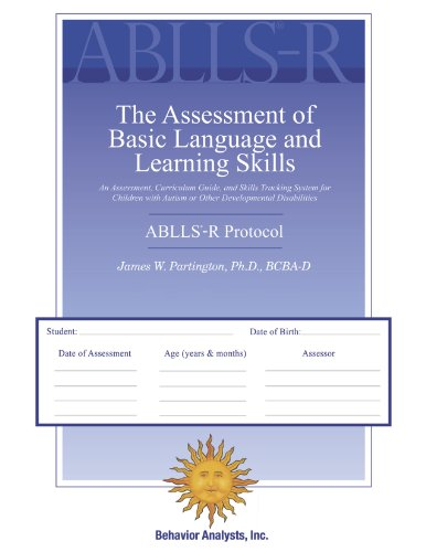 ABLLS-R - The Assessment of Basic Language and Learning Skills - Revised (The ABLLS-R) Combination Set