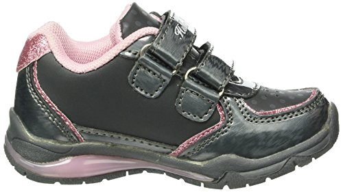 Hello Kitty Hk Fanely Light - Zapatillas de Entrenamiento Niñas Gris - Grau (Dark Grey (122))