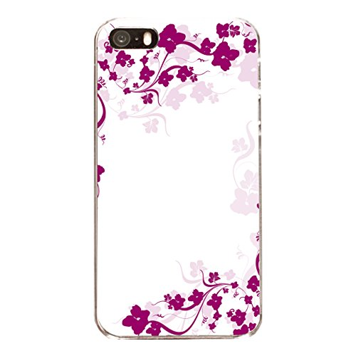 "Disagu Design Case Coque pour Apple iPhone 5s Housse etui coque pochette ""Pinke Blumenranke"""