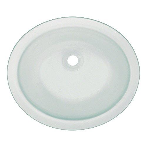 Cheap  Polaris Sinks Polaris PUGMFR Undermount Glass Bathroom Sink