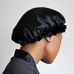 Satin Double Layered Hair Bonnet, Sleeping cap, Hair Cover