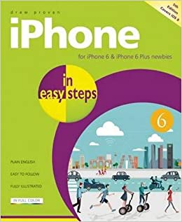 Book iPhone in easy steps, 5th edition - covers iPhone 6 and iOS 8