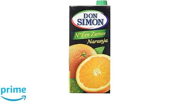 Don Simon Zumo de Naranja - Pack de 12 botellas x 1 l - Total: 12 l: Amazon.es: Amazon Pantry