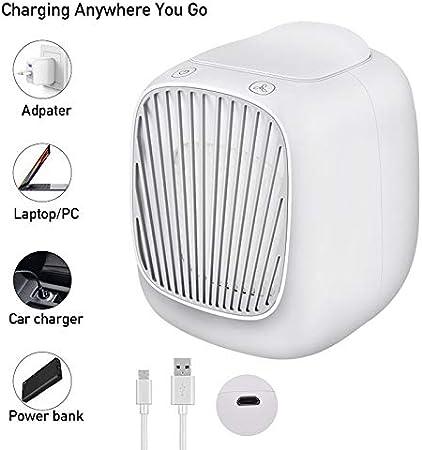 Mini Portable Chargeur USB Refroidissement Par Air Refroidisseur Ventilateur de Bureau Pour Bureau Maison d/'été