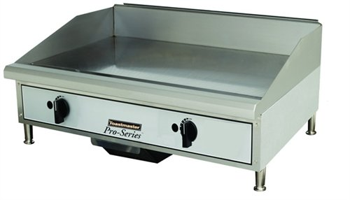"Toastmaster TMGM24 Manual Natural Gas 24"" Griddle"