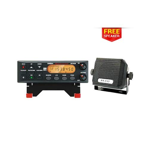 Uniden Bearcat BC355N 800 MHz 300-Channel Base/Mobile Scanner with Universal External Speaker (800 Channel Police Scanner)