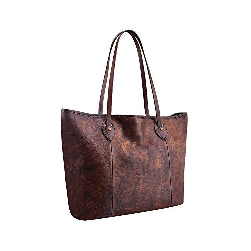 Leather Tote Bags, Rustic Large Tote Bag, Brown Travel Bag, Large Leather Tote Bag, Women Handbag, Handmade Leather Bag, Brown by BravoStudioDesign
