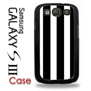 Pink Ladoo? Samsung Galaxy S3 Plastic Case - Stripes Black and White Trendy Stripes wangjiang maoyi by lolosakes