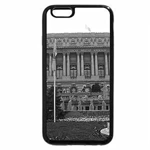 iPhone 6S Plus Case, iPhone 6 Plus Case (Black & White) - National Military Circle