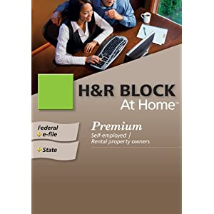 H&R Block At Home 2009 Premium Federal + State + eFile [Formerly TaxCut] [Download] [OLD VERSION]