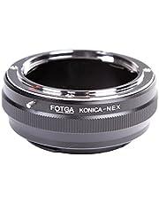 FOTGA - Anillo adaptador para Sony Alpha A7 A7S A7R A7II A7SII A7RII A7III A7RIII A7RIII A7SIII A7SIII A9 A6500 A6300 A6000 A5100 A5000 A3500