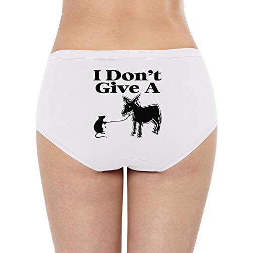 Eoyles gy Attractive Women I Don't Give The A Stretchy Soft Cute Panties Cotton Underwear