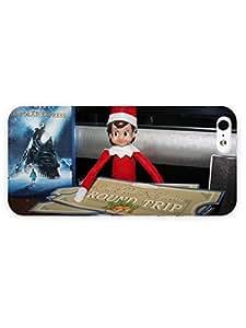 Apple iPhone 5/5S Case TbePolorExprecs Elf On The Shelf Arctic In Fiction Full Wrap iPhone Case