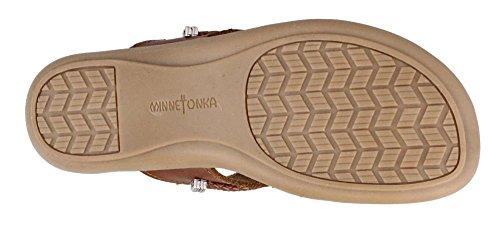Sandal Thong Whiskey Silverthorne Women's Minnetonka q0Rtw
