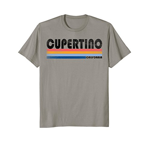 Vintage Retro 70S 80S Cupertino Ca T Shirt