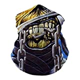 I-Ron M-Aiden Neck Gaiter Unisex Adult Multi-Functional Face Cover Breathable Headscarf Dustproof Mask